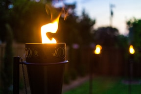 Tiki Torches for Mosquito Control