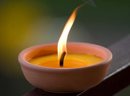 Citronella Candle For Mosquitoes